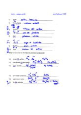 Worksheet #2 Answer Key - ionic compounds worksheet#2