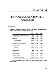 Solutions for financial analysis problems.pdf