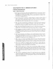 Barron's Practice Test1 - Answer Key - TOEIC PRACTICE TEST 1—ANSWEBS
