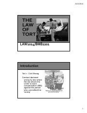 Lecture 11-THE LAW OF TORT- Negligence.pdf
