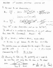 Midterm 1 Solution Spring 2009