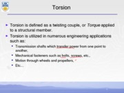 Torsion Notes