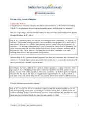 Pre-marketing Research Template1.docx