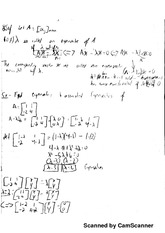 Notes on Eigenvalues and Eigenvectors