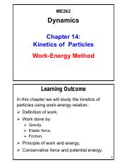 Chapter 14 - Kinetics of Particles-Energy Method_V01