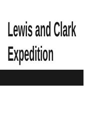 Lewis and Clark Journal.pptx
