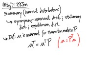 Lecture 7 on Invariant Distributions