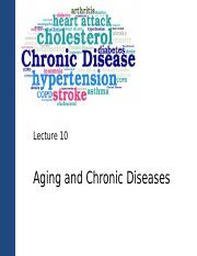 Lecture 10_C2g_Aging and Chronic Diseases