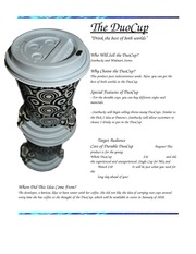 DuoCup Product Information Sheet