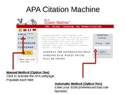 APA Citation Engine(3)