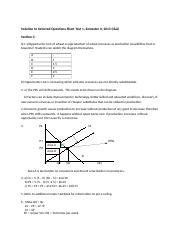 Solution to Selected Questions for 2013  Short Test 1 (1).docx
