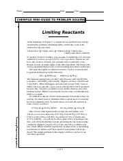 Chemfile - Limiting Reactants.PDF