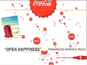 Open Happiness_COCA-COLA Campaign Analysis