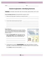 student exploration identifying nutrients Student exploration identifying nutrients answer key has actually been readily available for you you could get guide absolutely free reading online as well as.