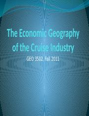 The Economic Geography of the Cruise Industry.pptx