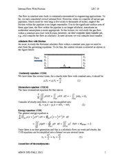 LEC 19 Internal flow with friction