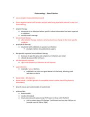 Pharmacology Exam 4 Pharmacology Final Exam Review 1