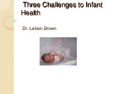 Three+Challenges+to+Infant+Health