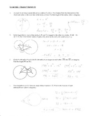Geom/Als2 - Chapter 9 Review #2
