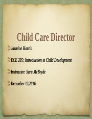 Child Care Director PowerPoint.pptx