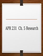 231 Ch5 Research.ppt