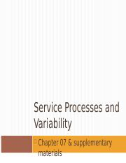 Chap7 Service and variability.ppt