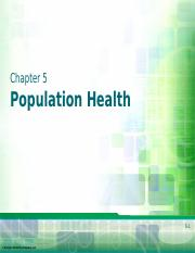 Chapter 5 - Population Health