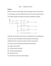 Lab 6_sequence_circuit