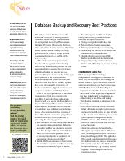 12v1-Database-BackupGreat Information