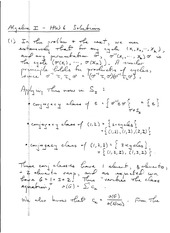 Algebra 1 Homework 6 Solutions