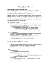 Class Notes for CSC290 - Business Communication Chapter 12