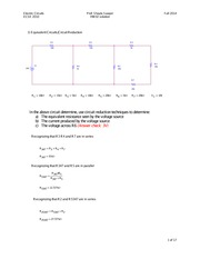 Homework 2 Solution: Nodal and Mesh Analysis