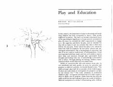 26-Bettleheim-Play and education.pdf