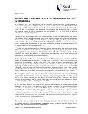 Future for Children - A Social Enterprise Project in Transition (SMU-15-0027).pdf
