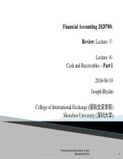 Financial Account (财务会计学)_Lecture #8.pdf