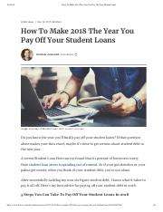 How To Make 2018 The Year You Pay Off Your Student Loans.pdf