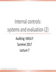 Lecture 7 Internal controls (2) 2017 OLE.pdf