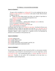 2015 Tutorial _5_ Answers