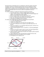 geometric relationships online