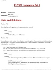 HW 6 problems/solutions