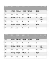 TIME TABLE 2.4