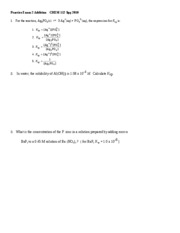 Practice Exam 2 Addition    CHEM 112 Spg 2010