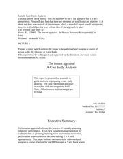 business   management case study homework review questions