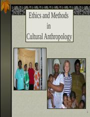 Lect Ethnography Methods and Ethics 30.ppt