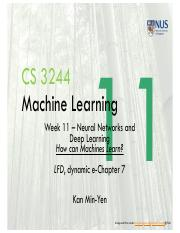 Lect11 Neural Networks and Deep Learning