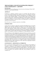 36551307-The-Maturing-Concept-of-Estimating-Project