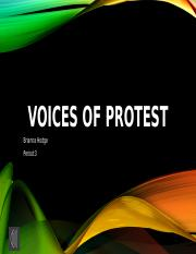 VOICES OF PROTEST- Brianna Hodge.pptx
