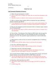 is3110 week4 lab1 Free essays on lab 4 assessment worksheet for students use our papers to help you with yours 1 - 30.