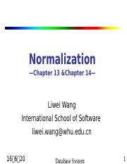 11 Normalization.ppt