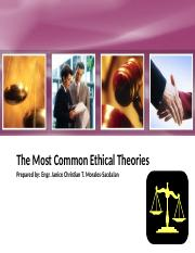 2. The Most Common Ethical Theories.pptx